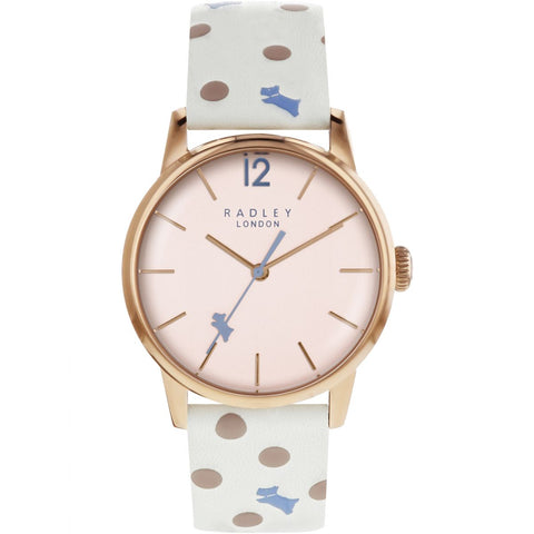 Radley - Vintage Dog Dot Ladies Watch RY2566