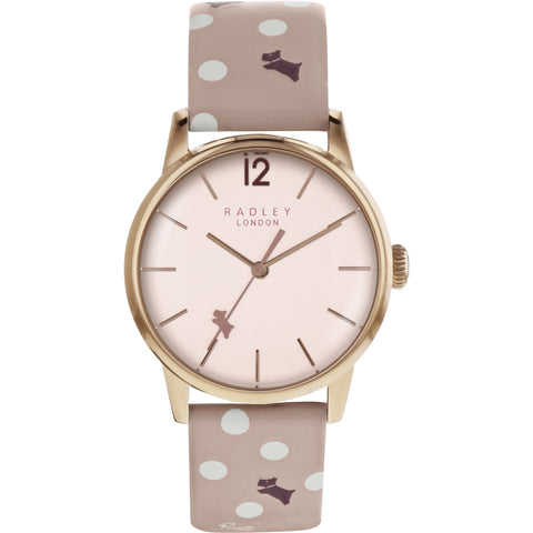 Radley - Vintage Dog Dot Ladies Watch RY2568