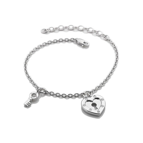 Hot Diamonds Lock In Love Bracelet DL560 2005169