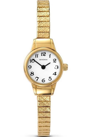 Sekonda Gold Plated Ladies Bracelet Watch 4474 1006050
