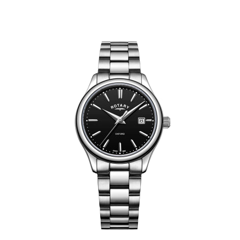 Rotary Stainless Steel Oxford Ladies Watch LB05092/04