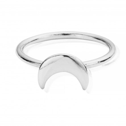 ChloBo - Moon Sterling Silver Ring SRMOON X