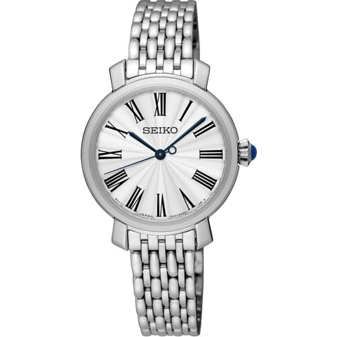Seiko Ladies Stainless Steel Bracelet Watch SRZ495P1