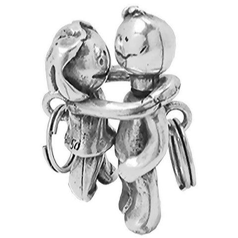 UNO de 50 - Boy and Girl Keyring 4112001