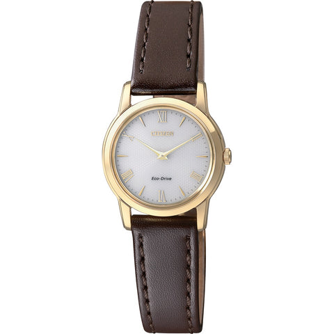 Citizen Stiletto Eco-Drive Ladies Leather Watch EG3042-03A 1003143