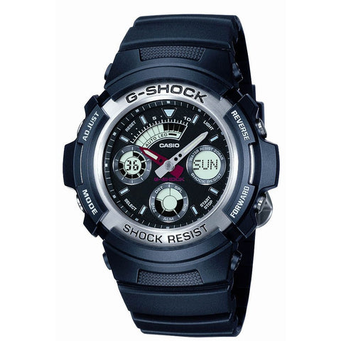 Casio Men's G-Shock Alarm Chronograph Watch AW-590-1AER