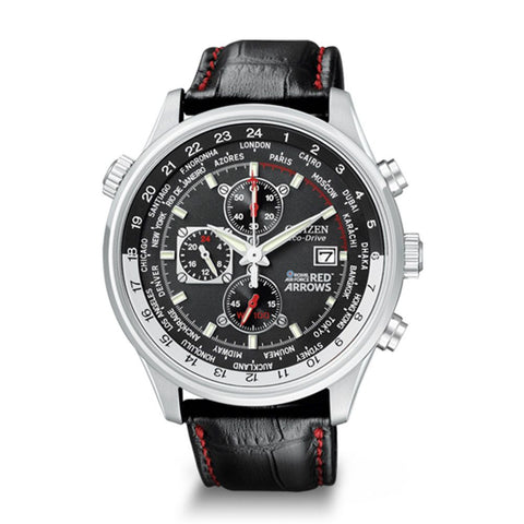 Citizen Men's Red Arrows World Time Chronograph Eco-Drive Watch CA0080-03E 1003273