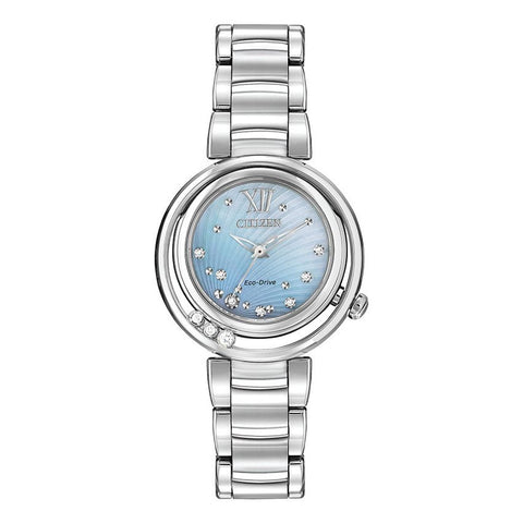 Citizen L Sunrise Diamond Eco Drive Ladies Watch EM0320-59D