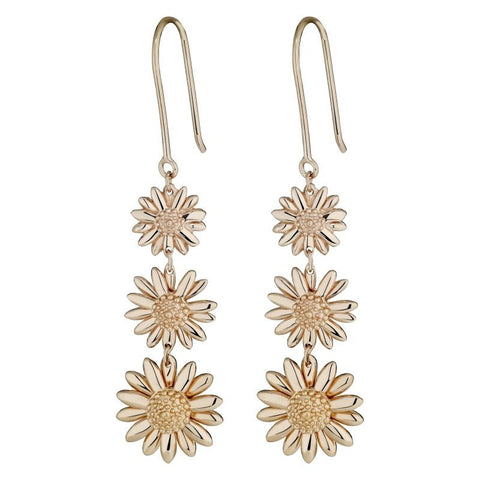 Daisy Triple Drop Earrings E3010