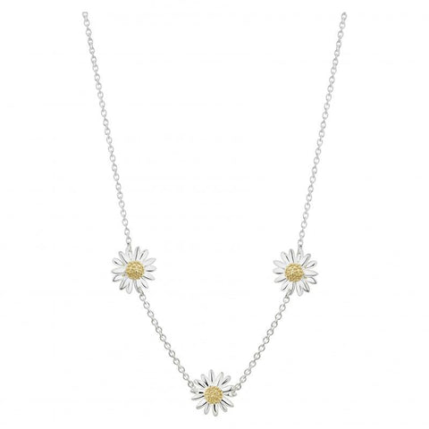 Daisy Three 10mm Necklace