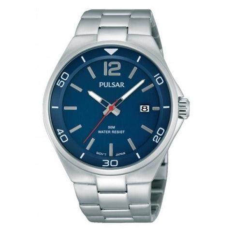 Pulsar Mens Dress Watch Stainless Steel PS9325X1