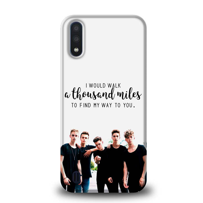 why dont we Z4543 Samsung Galaxy A01 Case