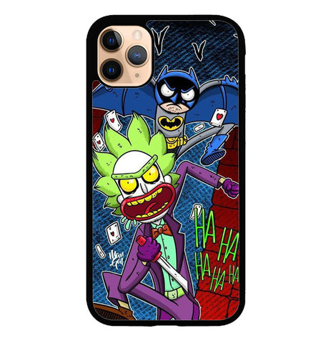 rick and morty joker batman W8813 iPhone 11 Pro Case