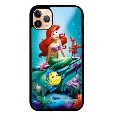 the little mermaid W8909 iPhone 11 Pro Case