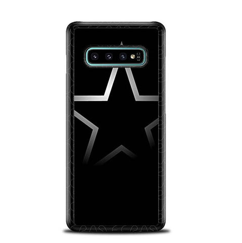 Dallas Cowboy Black S0077 Samsung Galaxy S10 Plus Cover Cases