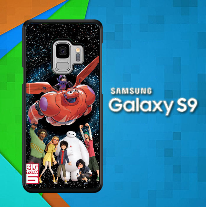 Big Hero 6 Team O0657 Samsung Galaxy S9 Case New Year Gifts 2020-Samsung Galaxy S9 Cases-Recovery Case