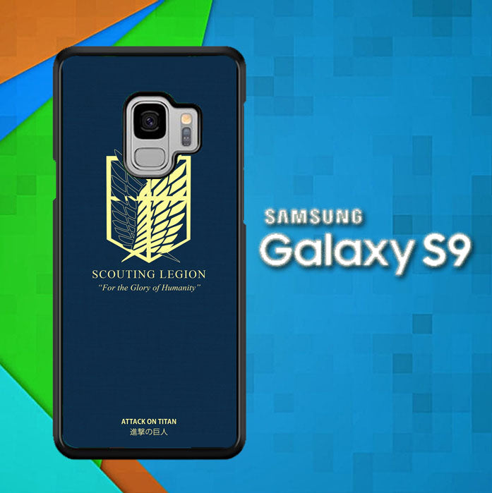 Scouting Legion AOT O1211 Samsung Galaxy S9 Case New Year Gifts 2020-Samsung Galaxy S9 Cases-Recovery Case