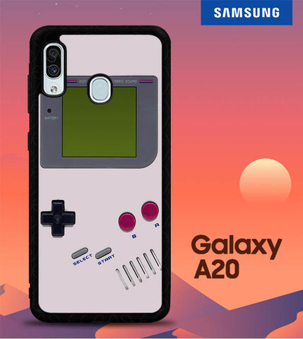 Classic Retro Gameboy O3523 Samsung Galaxy A20 Cover Cases