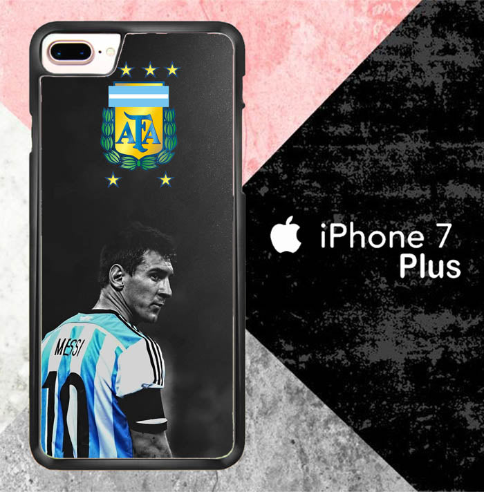 Lionel Messi Argentina Fifa World Cup O4047 iPhone 7 Plus Case New Year Gifts 2020-iPhone 7 Plus Cases-Recovery Case