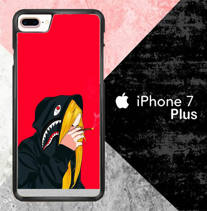 Smoking Bathing Ape O4067 iPhone 7 Plus Case New Year Gifts 2020-iPhone 7 Plus Cases-Recovery Case