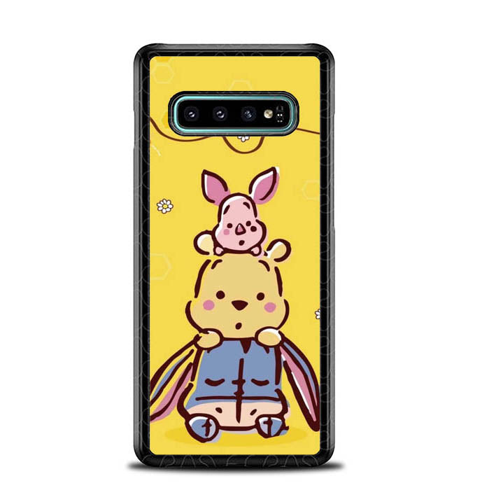 Winnie the Pooh Cute O6723 Samsung Galaxy S10 Plus Case New Year Gifts 2020-Samsung Galaxy S10 Plus Case-Recovery Case