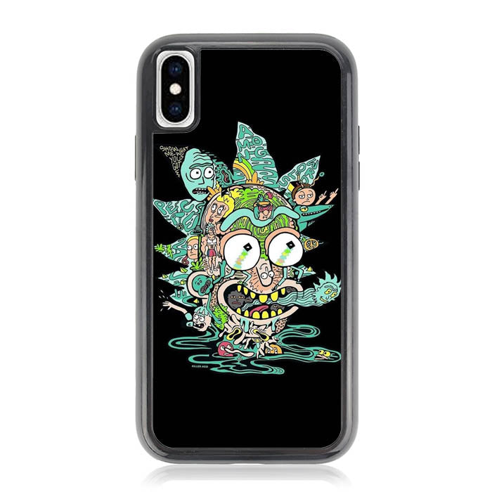 Rick and Morty O6852 iPhone XS Max Case