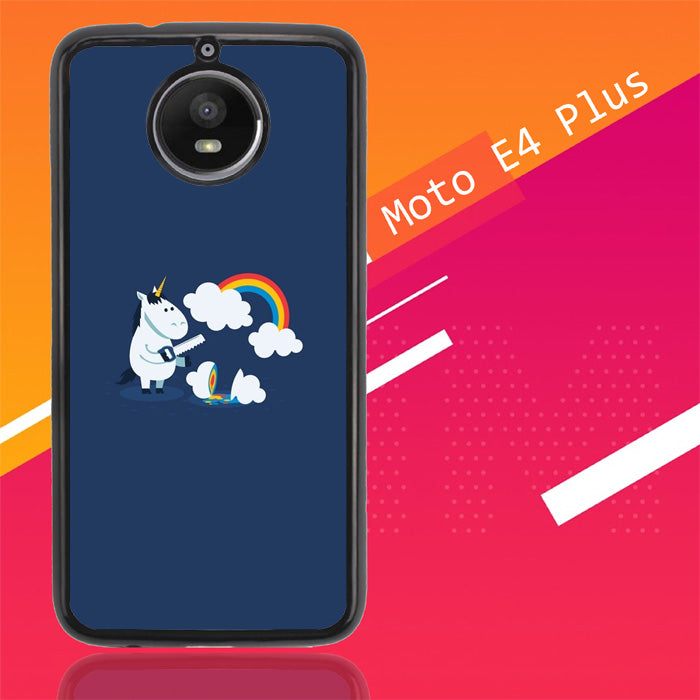 Unicorn Rainbow O0009 Motorola Moto E4 Plus Case Christmas Gifts | Xmas Presents and Gift Ideas-Motorola Moto E4 Plus-Recovery Case