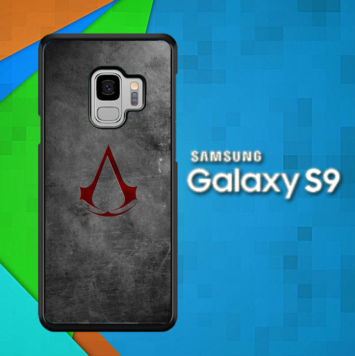 Logo Assasin Creed O0104 Samsung Galaxy S9 Case New Year Gifts 2020-Samsung Galaxy S9 Cases-Recovery Case