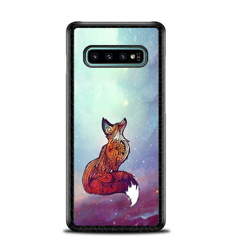 Imagine Fox O0128 Samsung Galaxy S10 Plus Cover Cases
