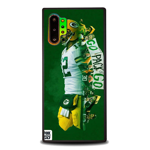 GO PACKERS B0231 Samsung Galaxy Note 10 Plus Cover Cases