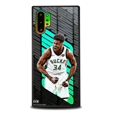 Giannis B0297 Samsung Galaxy Note 10 Plus Cover Cases