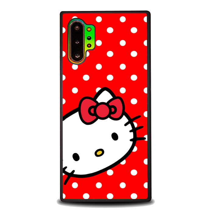 H ello Kitty Red Polkadot B0563 Samsung Galaxy Note 10 Plus Case New Year Gifts 2020-Samsung Galaxy Note 10 Plus Case-Recovery Case