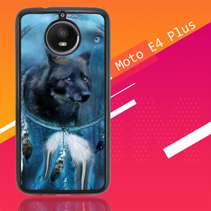 Wolf Dream Catcher F0247 Motorola Moto E4 Plus Case Christmas Gifts | Xmas Presents and Gift Ideas-Motorola Moto E4 Plus-Recovery Case
