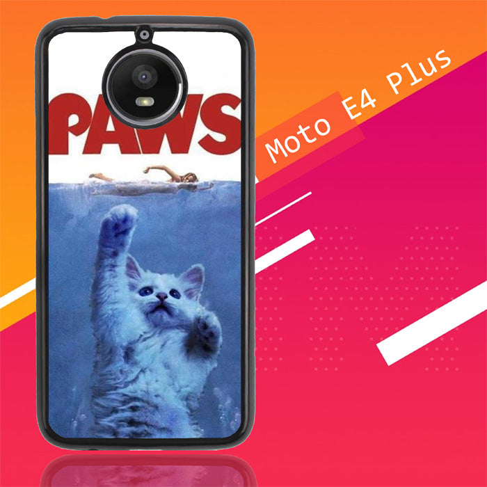 Paws Ovie Parody Funny Cat Attack F0586 Motorola Moto E4 Plus Case New Year Gifts 2020-Motorola Moto E4 Plus-Recovery Case