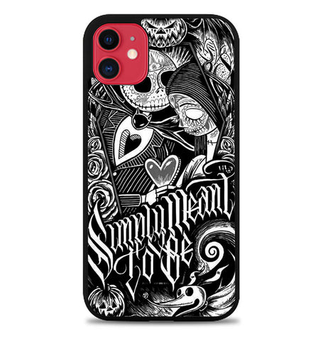 Jack And Sally Muertitos The Nightmare Before Christmas F0874 iPhone 11 Case