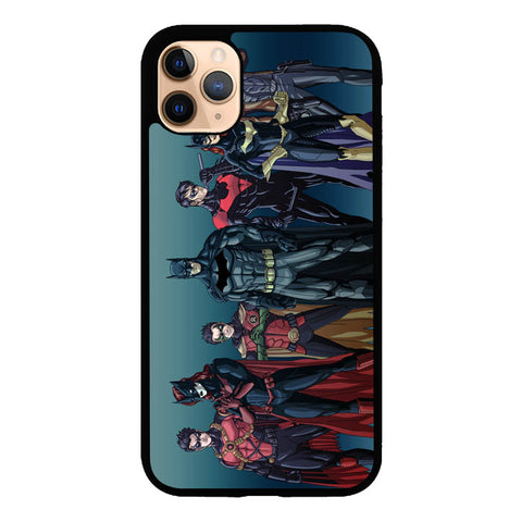 Batman Batfamily Z0351 iPhone 11 Pro Max Case