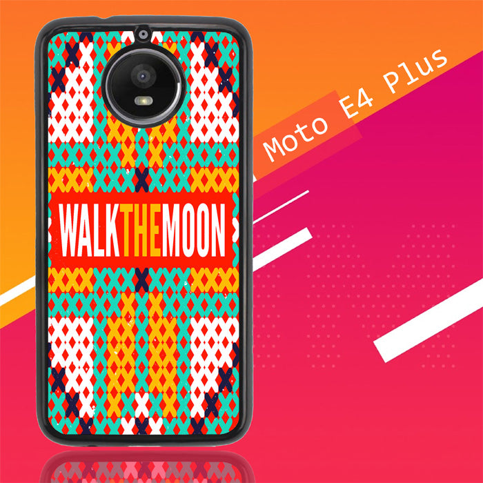 Walk The Moon Band Logo Z0448 Motorola Moto E4 Plus Case Christmas Gifts | Xmas Presents and Gift Ideas-Motorola Moto E4 Plus-Recovery Case