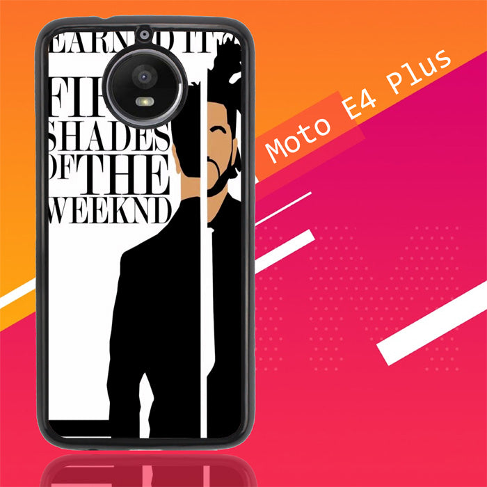 Weeknd Earned It Z0450 Motorola Moto E4 Plus Case Christmas Gifts | Xmas Presents and Gift Ideas-Motorola Moto E4 Plus-Recovery Case