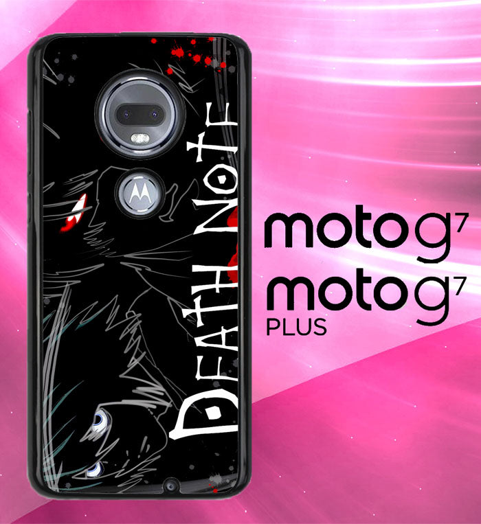 Death Note Anime Z0463 Motorola Moto G7 , G7 Plus Case