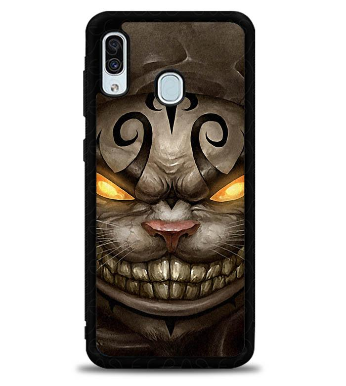 Alice Madness Returns Cheshire Cat Z0999 Samsung Galaxy A20 Case