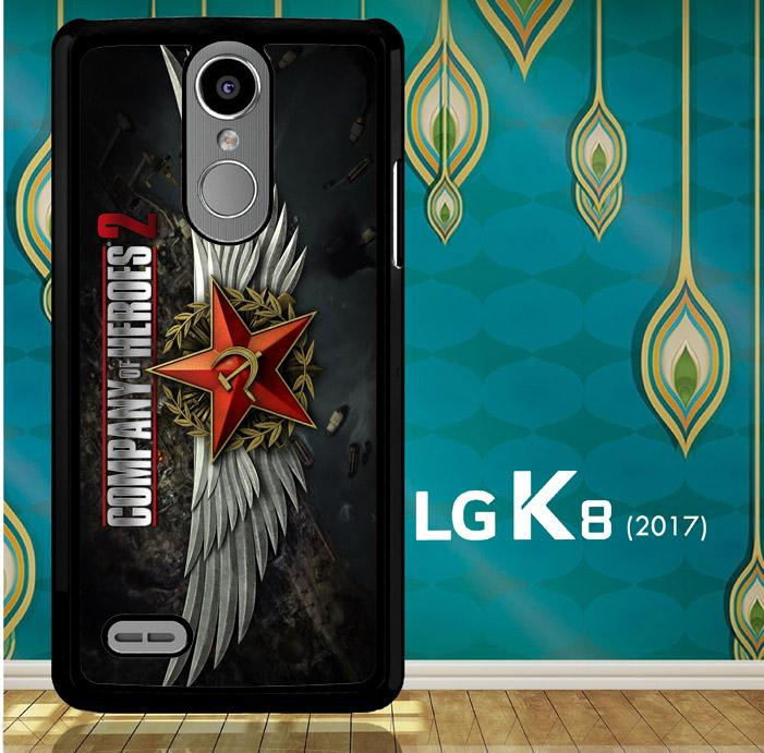 Company Of Heroes Video Game Z1027 Lg K8 2017 Lg Aristo Lg