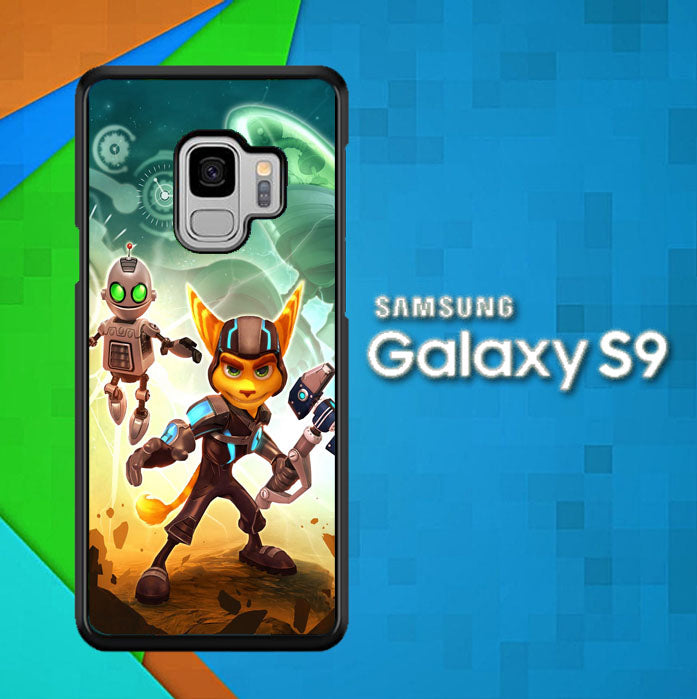 ratchet and clank Z1150 Samsung Galaxy S9 Case New Year Gifts 2020-Samsung Galaxy S9 Cases-Recovery Case