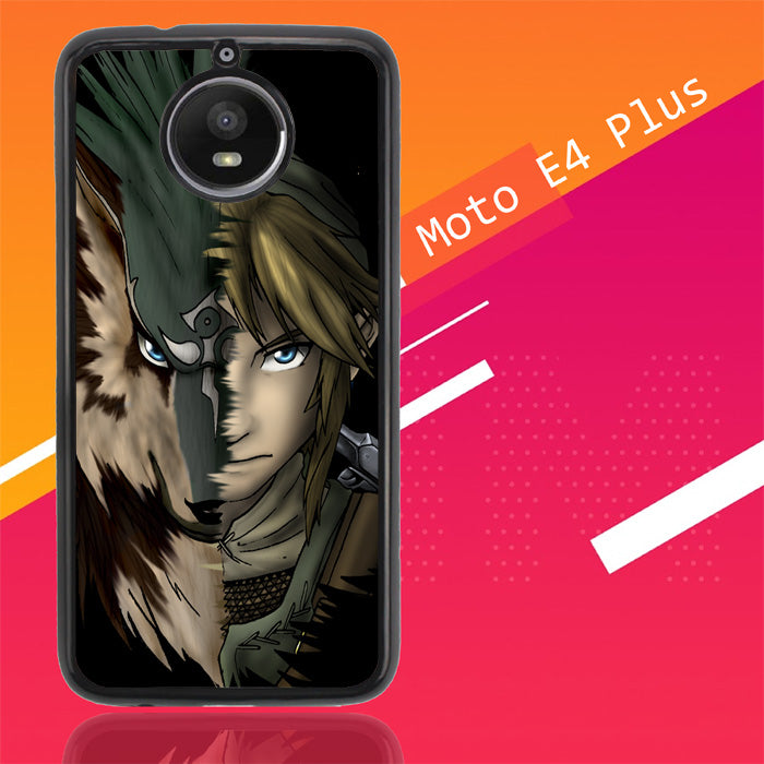 Zelda Link Wolf Triforce Z1233 Motorola Moto E4 Plus Case Christmas Gifts | Xmas Presents and Gift Ideas-Motorola Moto E4 Plus-Recovery Case