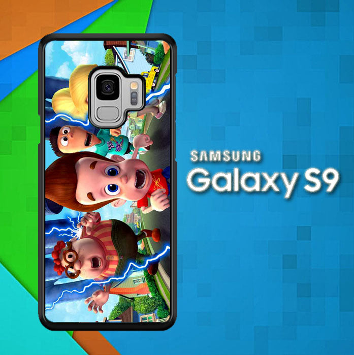 The Adventures of Jimmy Neutron Z1335 Samsung Galaxy S9 Case Christmas Gifts | Xmas Presents and Gift Ideas-Samsung Galaxy S9 Cases-Recovery Case
