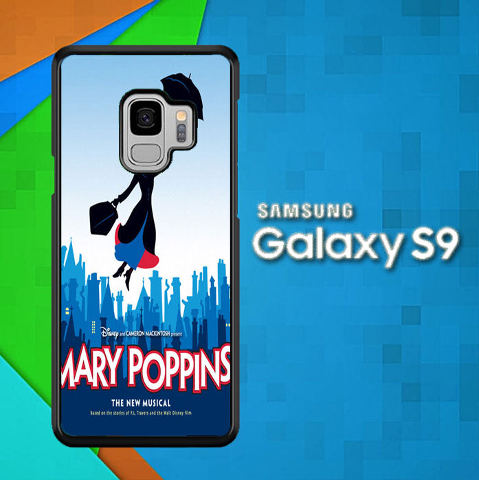 Mary Poppins The Broadway Musical Z1412 Samsung Galaxy S9 Case New Year Gifts 2020-Samsung Galaxy S9 Cases-Recovery Case
