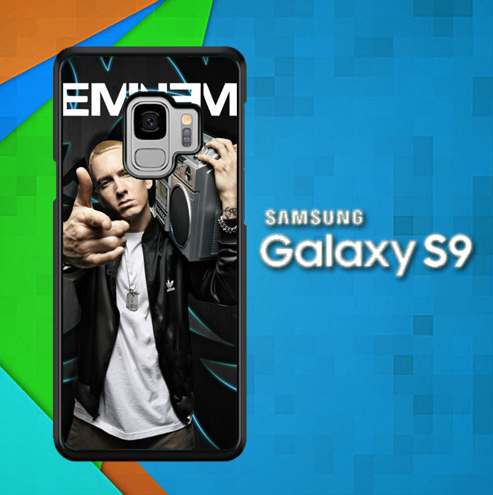 Eminem Z2175 Samsung Galaxy S9 Case New Year Gifts 2020-Samsung Galaxy S9 Cases-Recovery Case