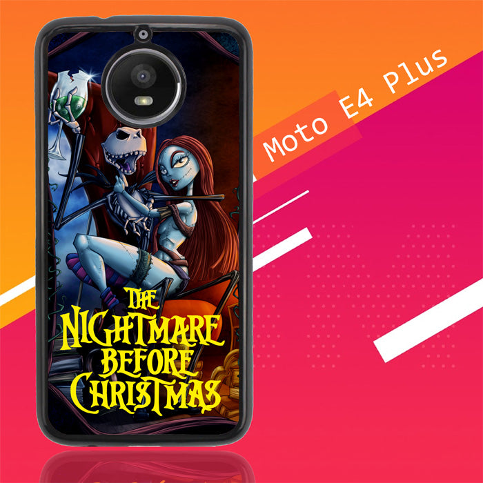 Nightmare Before Christmas Romance Z2862 Motorola Moto E4 Plus Case New Year Gifts 2020-Motorola Moto E4 Plus-Recovery Case
