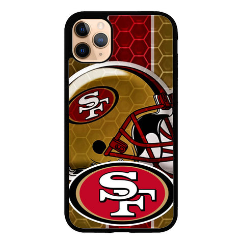 San Francisco 49ers logo Z3143 iPhone 11 Pro Case