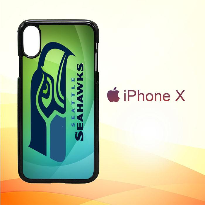 Seattle Seahawks Logo Z3149 iPhone X | iPhone XS Premium Case New Year Gifts 2020-iPhone X Cases-Recovery Case