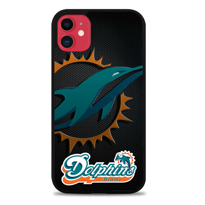 Miami Dolphins Z3158 iPhone 11 Case